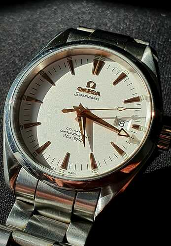 Omega afternoon sun