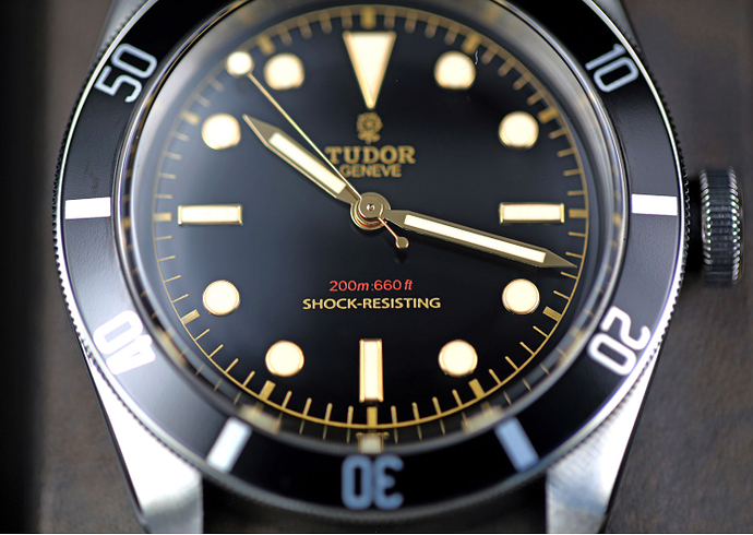 Tudor BB58 wijzers mod 2