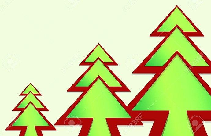 92191459-christmas-tree-in-the-form-of-a-green-arrow-on-a-white-background~2