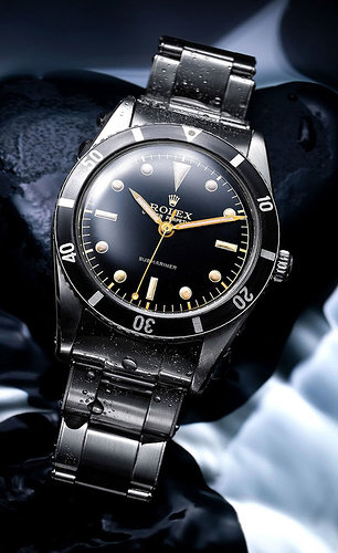 FIRST-OYSTER-PERPETUAL-SUBMARINER,-1953