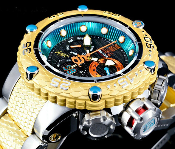 NEW-Invicta-Mens-50MM-JT-Hall-of-Fame