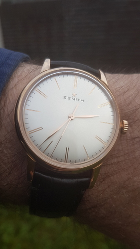 zenith elite 6150 rose gold #2