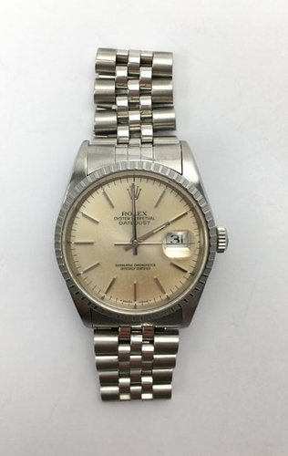 datejust creme silver