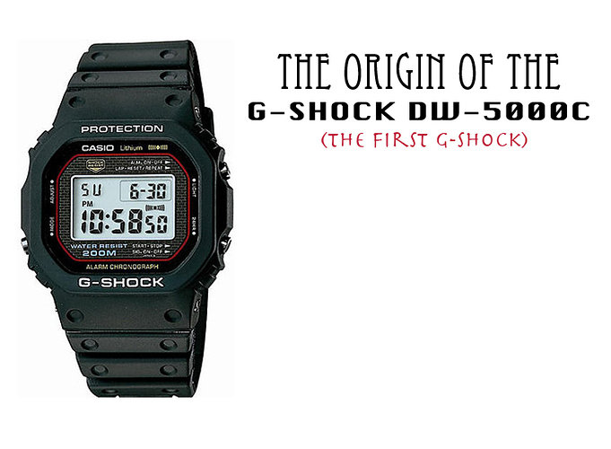 The-origin-G-Shock-DW-5000C