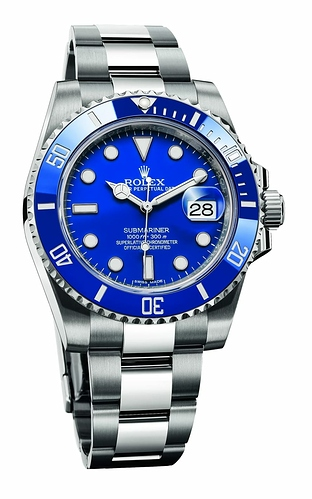 Rolex-Submariner-Date-in-blue-on-white-gold-e1583329445963