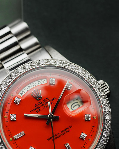 Rolex Day-Date 1804 red stella