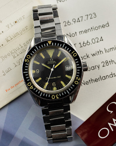 Omega Seamaster 300 Big Triangle full set