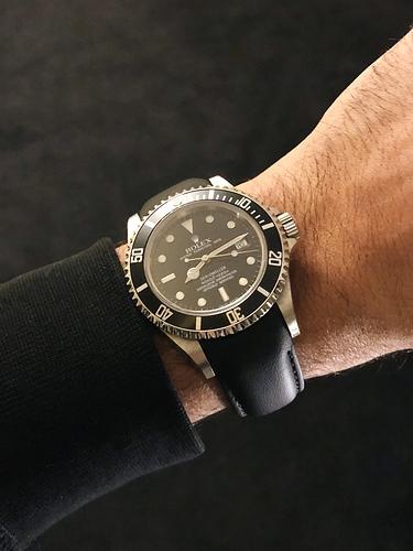 Rolex SD 16600 VariLeer leather strap 2
