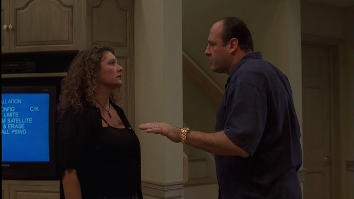 Sopranos 202e02 37-22 - Tony Soprano - Golden Rolex Day-Date