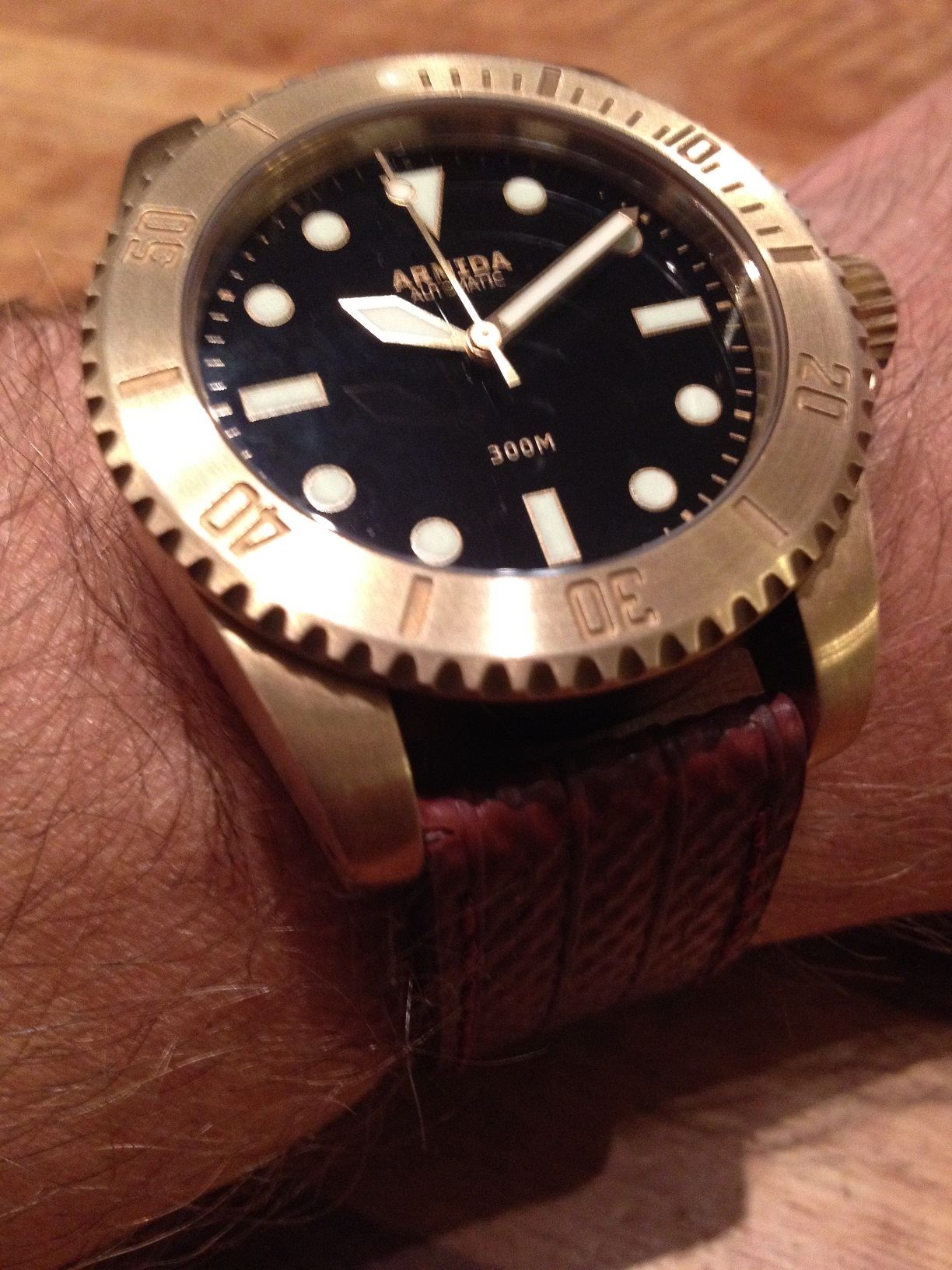 Horloge Om mooie dag mooi horloge om . ;-) - algemene horlogepraat