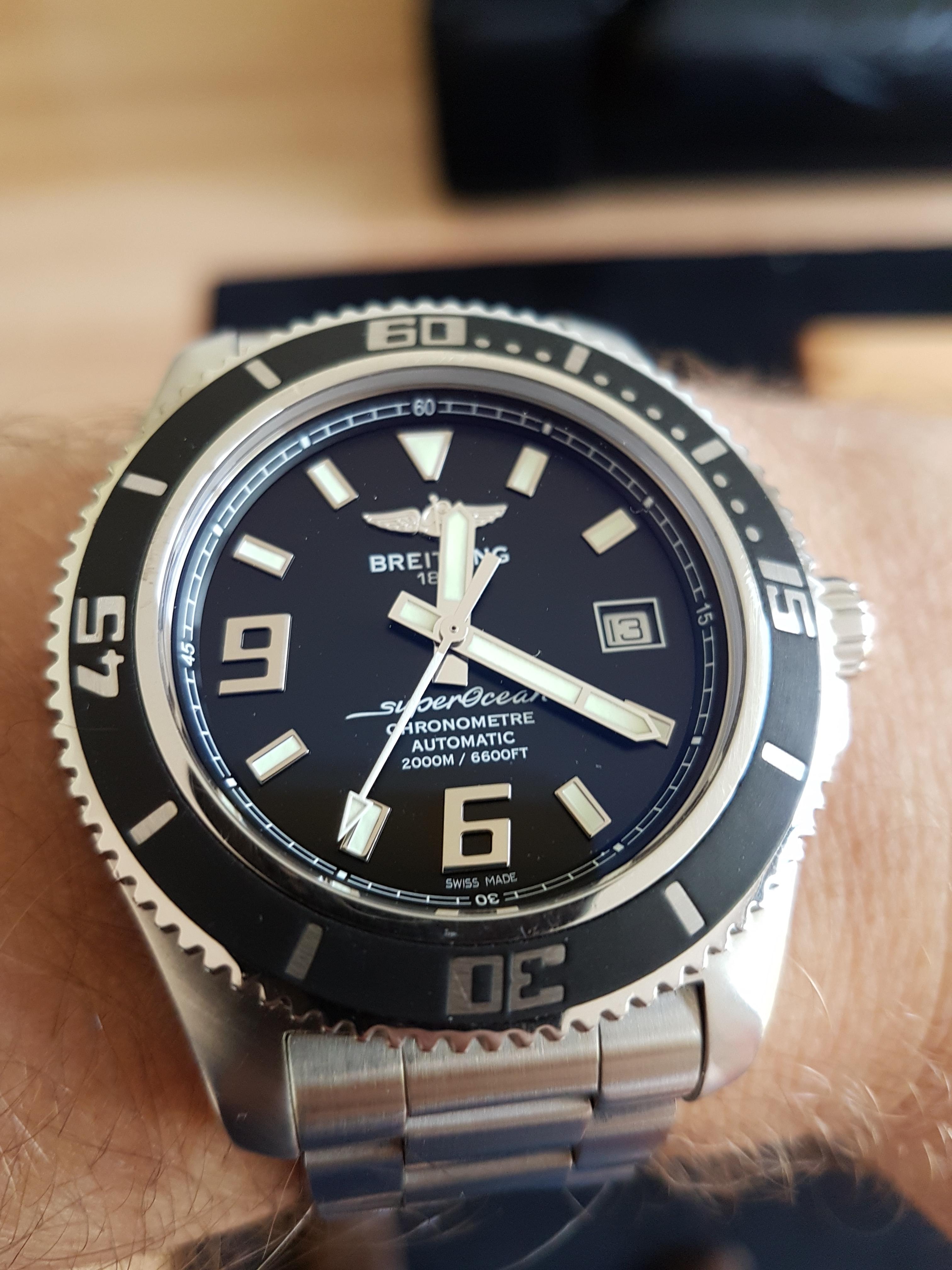 Breitling Superocean 44 >> NA: Breitling SuperOcean 44 - Algemene Horlogepraat - Horlogeforum.nl - het forum voor ...