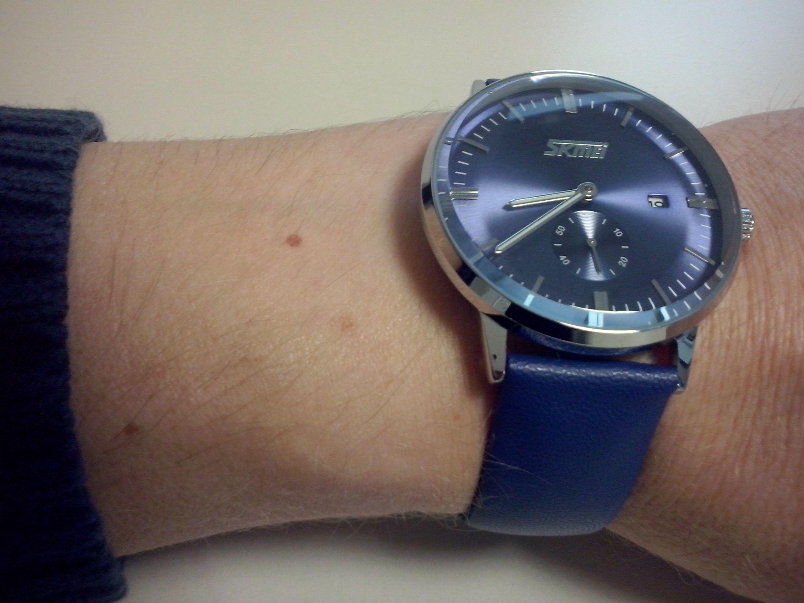 Horloge Om plaats horloge om de pols afhankelijk van je polsdikte? - algemene