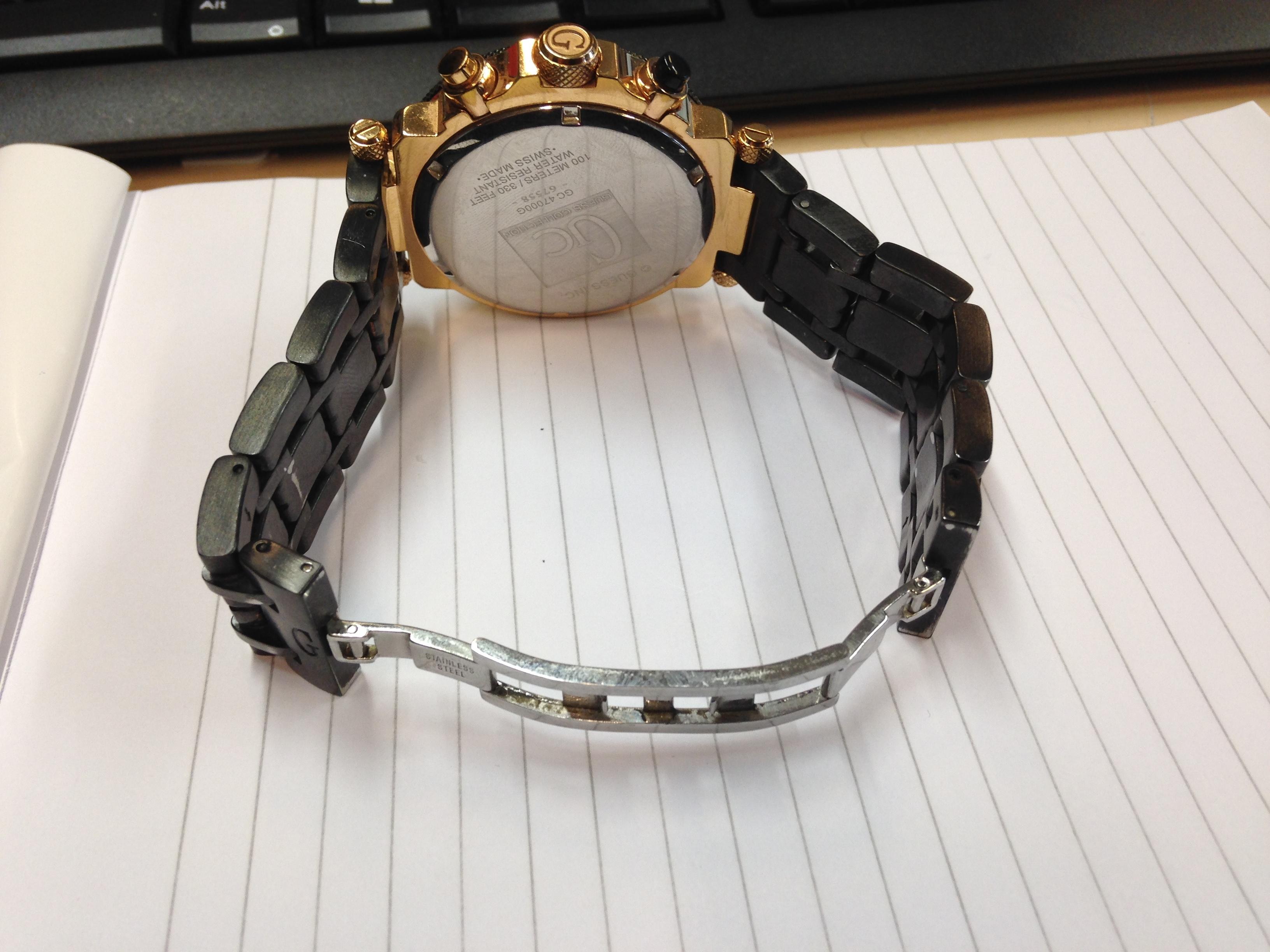 Bedwelming Hulp / horloge maker gezocht voor Guess Collection Horloge JD66