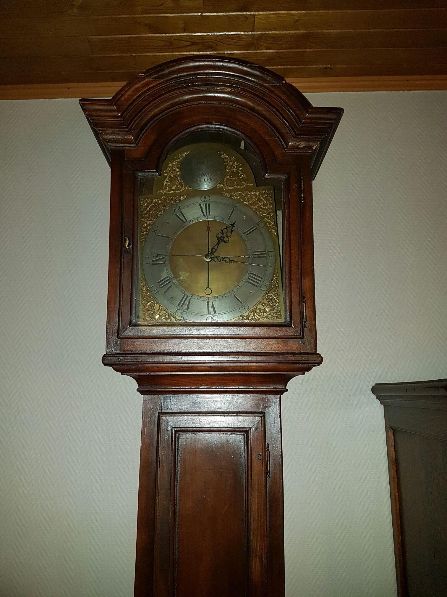 Beste Prijsschatting oude staande klok - Vintage Horlogeforum DM-52