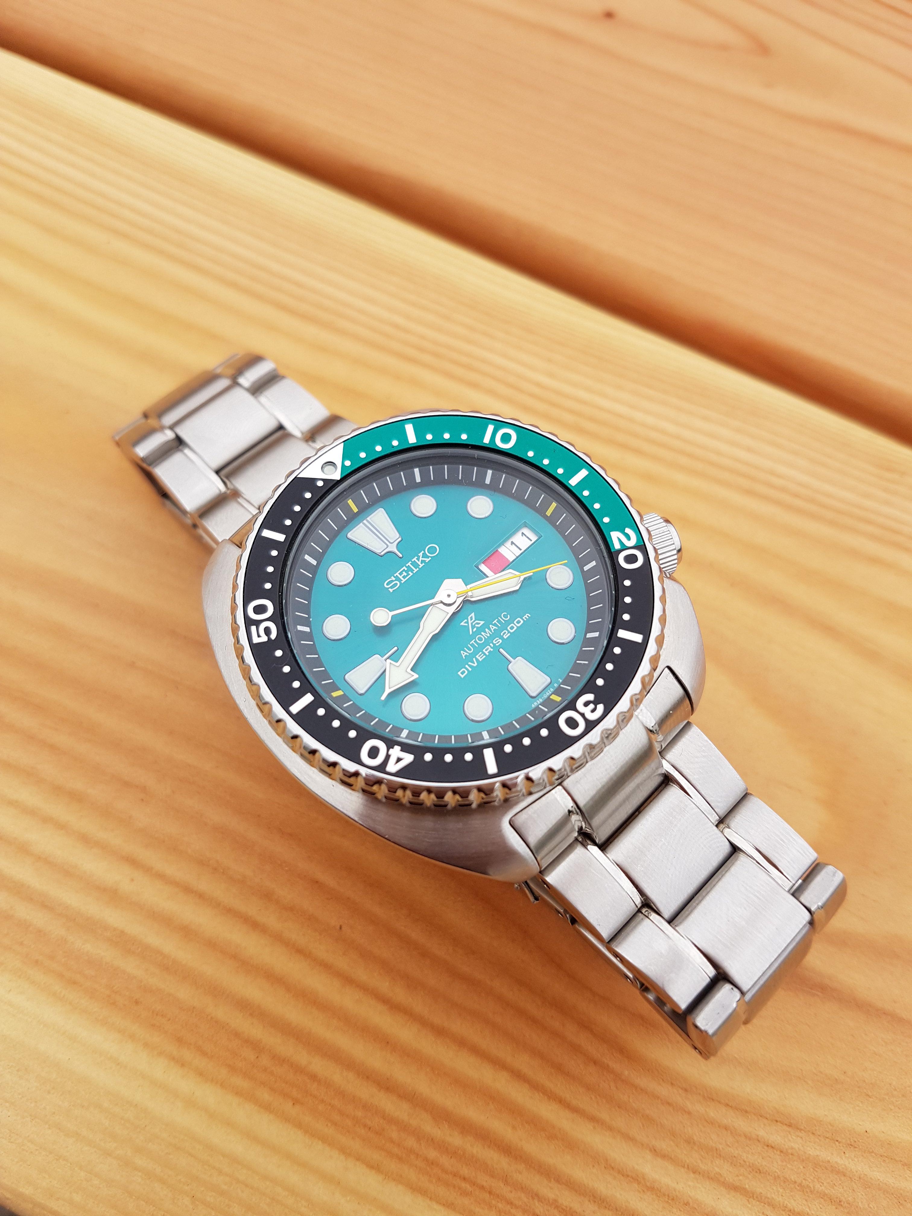Verkocht Limited Edition Green Turtle Horlogemarktnl Seiko Srpb01 20170612 2008233024x4032 28 Mb