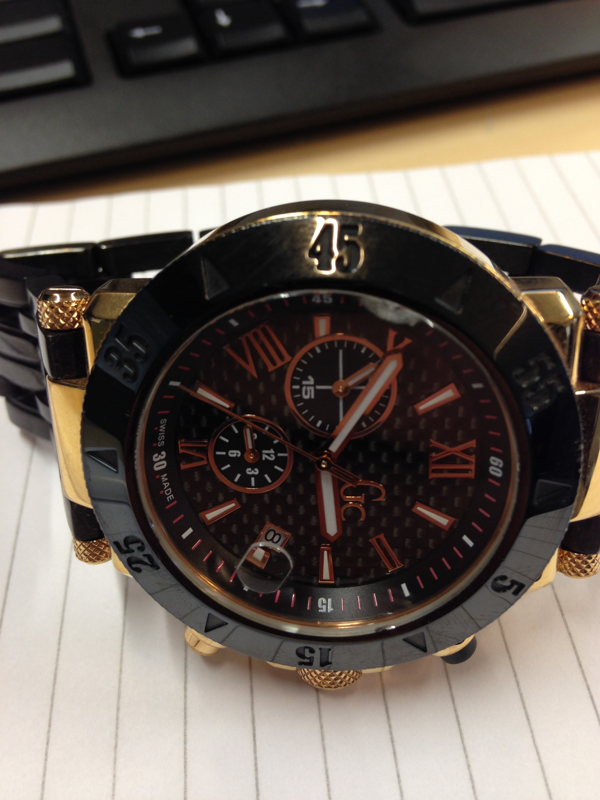 Iets Nieuws Hulp / horloge maker gezocht voor Guess Collection Horloge MY33
