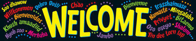 T25038Welcome_Multilingual_Classroom_Display_Banner