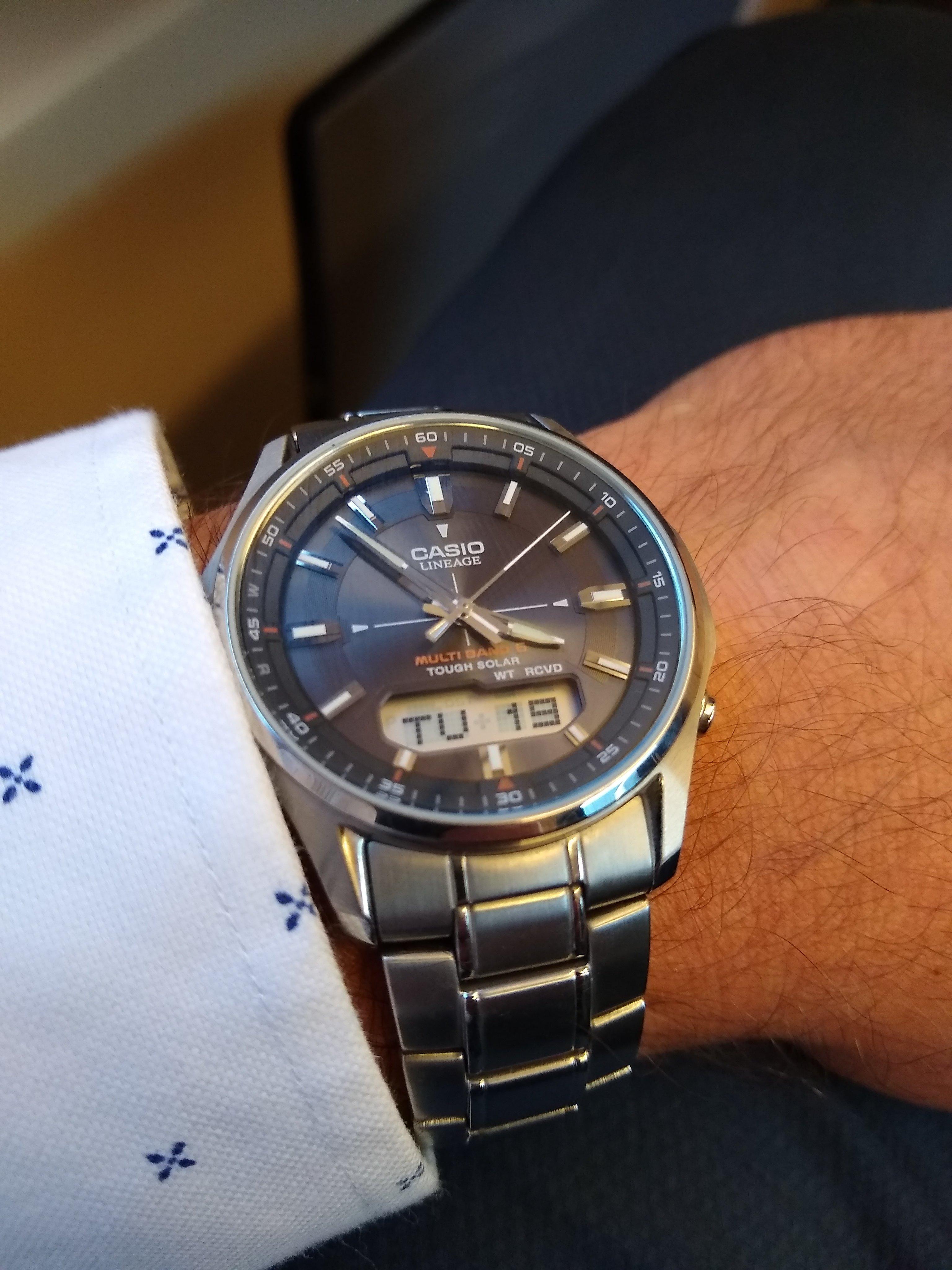 Casio Lineage LCW M100 Horlogemarkt (archief