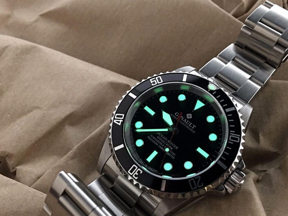 Часы ginault ocean-rover