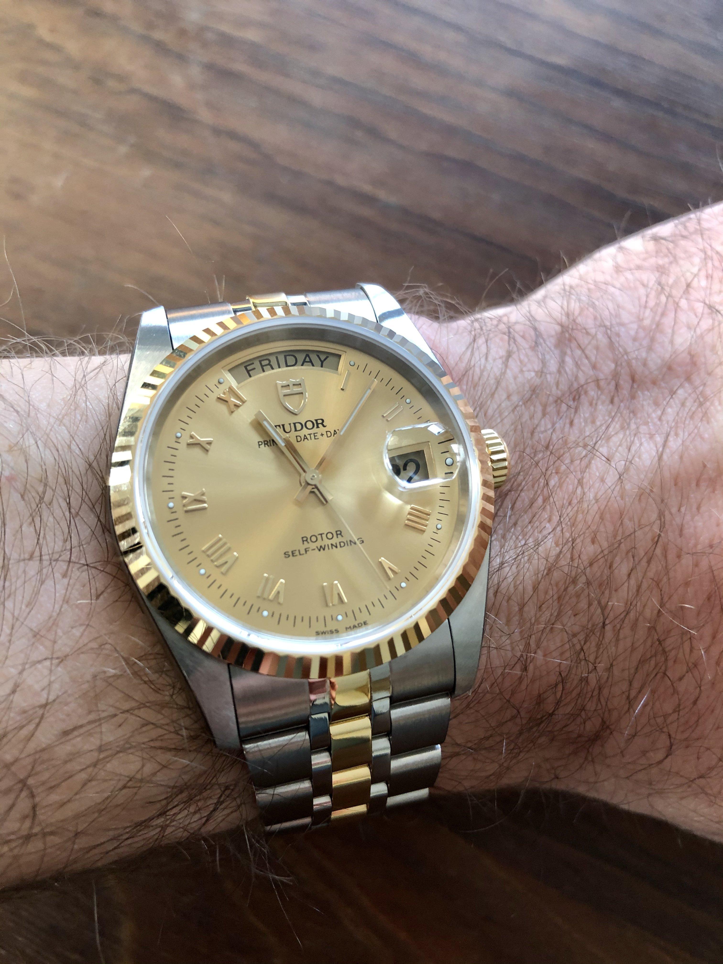 dating een Tudor horloge gratis dating site KwaZulu Natal
