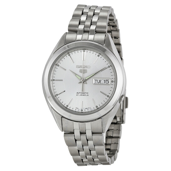 seiko-5-automatic-silver-dial-mens-watch-snkl15