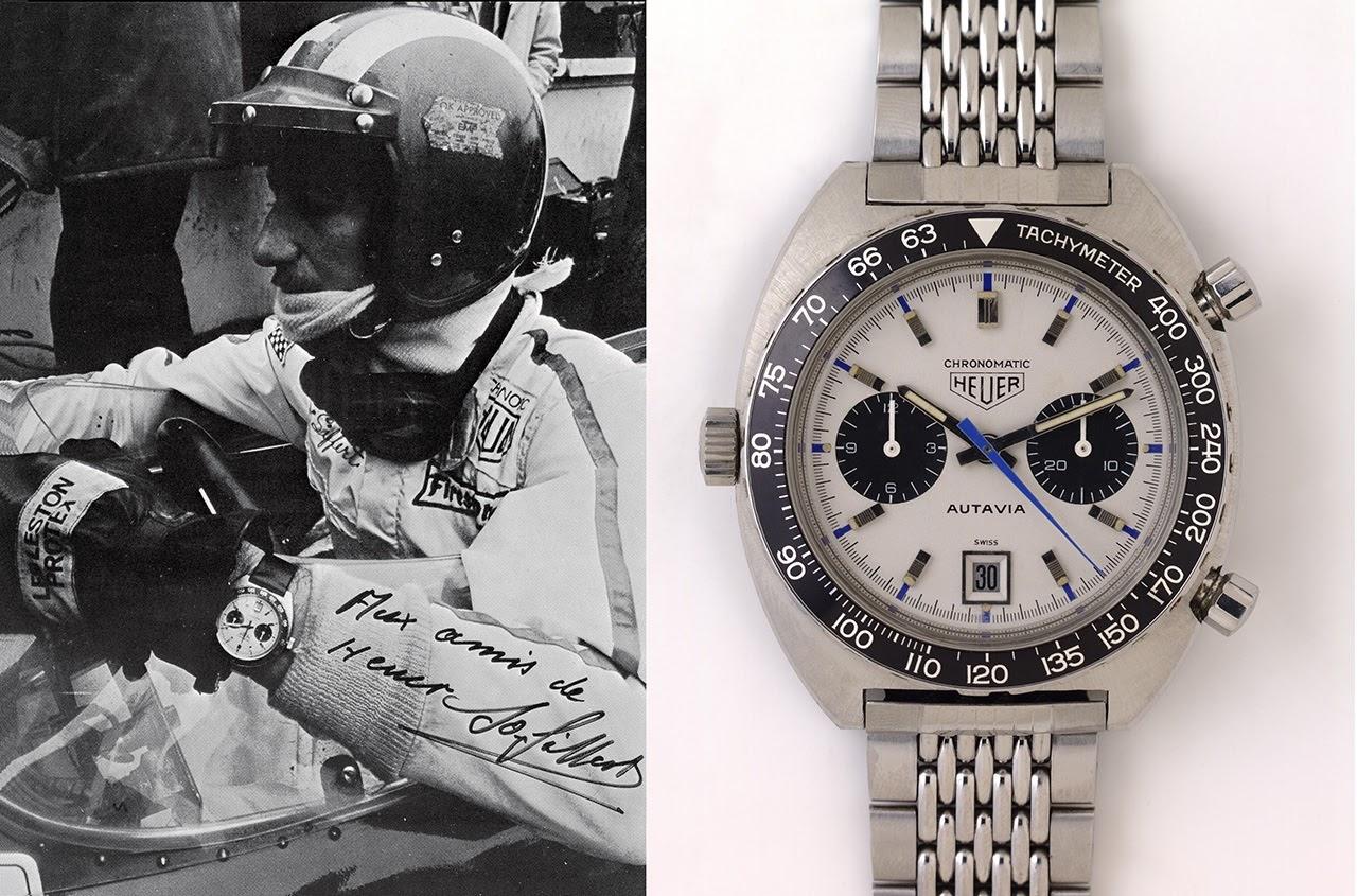 Horloges op het circuit (50's, 60's & 70's) Vintage